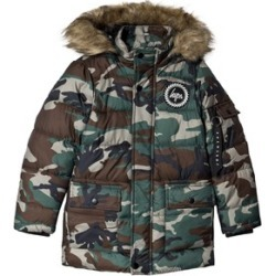 Hype Khaki Camo Explorer Puffer Jacket 13 years found on MODAPINS from Alex and Alexa for USD $76.05