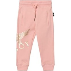 Boy London Boy London Pink and Gold Eagle Logo Sweatpants 7-8 years found on MODAPINS from Alex and Alexa for USD $58.39