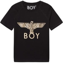 Boy London Black and Gold Eagle Logo Tee 3-4 years found on MODAPINS from Alex and Alexa for USD $54.60