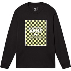 Vans Vans Black & Lime Branded Checkerboard Box Long Sleeved T-Shirt S (10 years) found on Bargain Bro UK from Alex and Alexa