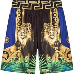 Versace Versace Blue Multi Lion Print Swim Shorts S (10 years) found on Bargain Bro UK from Alex and Alexa
