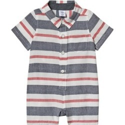 Gap Blue Stripe Romper 12-18 Months