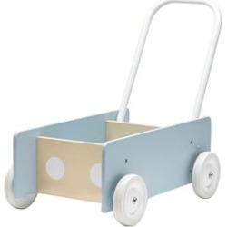 Kids Concept Kids Concept Blue And Grey Baby Walker One Size