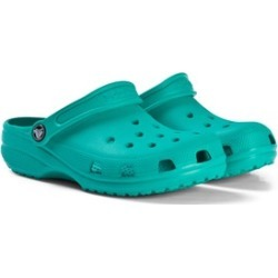 Crocs Kids Tropical Teal Classic Clogs C5 (EU 20/21)