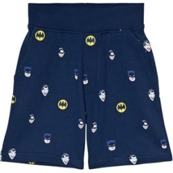 Fabric Flavours Fabric Flavours Navy Batman Print Sweatshorts 3-4 years
