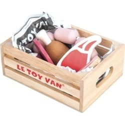 Le Toy Van Market Meat Toy Crate One Size (3+ years)