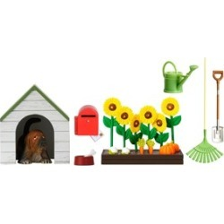 LUNDBY Accessories Doll Garden Set and Dog House 3 - 10 years