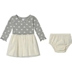 Gap Gap Grey and Off White Heart Print Dress 4 Years found on Bargain Bro UK from Alex and Alexa