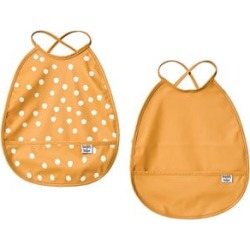 Buddy & Hope Yellow Pack of 2 Bibs One Size