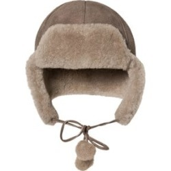 Little Jalo Brown Sheepskin Hat 44/46 cm found on Bargain Bro India from Alex and Alexa for $103.87