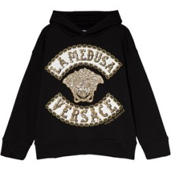 Versace Versace Black Medusa and Versace Embroidered Hoody S (10 years) found on Bargain Bro UK from Alex and Alexa