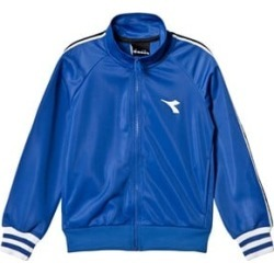Diadora Blue Tech Fabric Branded Zip Through Track Jacket XL (14 years) found on MODAPINS from Alex and Alexa for USD $39.00