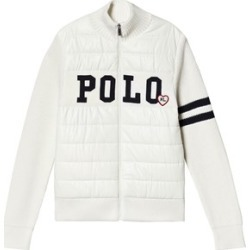 Ralph Lauren Ralph Lauren Cream Knitted and Padded Jacket XL (16 years)