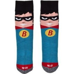 Barts Red and Blue Superhero Ski Socks 23-26 (2-3 years) found on MODAPINS from Alex and Alexa for USD $11.20