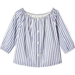 Gap Blue Stripe Top L (10-11 Years)