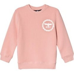 Boy London Boy London Pink and Gold Eagle Back Print Sweatshirt 7-8 years found on MODAPINS from Alex and Alexa for USD $64.88