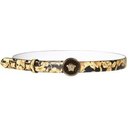 Versace Versace Black and Gold Baroque Print and Medusa Belt S (62cm) found on Bargain Bro UK from Alex and Alexa
