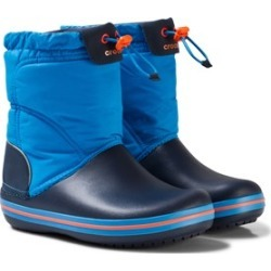 Crocs Kids Ocean and Navy Crocband Lodgepoint Boot C6 (EU 22/23)