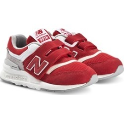 New Balance New Balance Red & White Lifestyle Trainers 29 (UK 11)