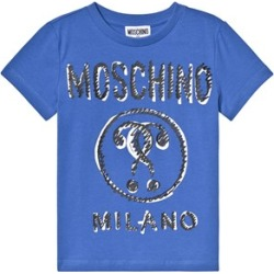 Moschino Moschino Blue Branded T-Shirt 5 years found on Bargain Bro UK from Alex and Alexa