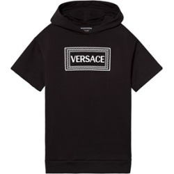 Versace Versace Black Versace Logo Hooded Sweat Dress S (10 years) found on Bargain Bro UK from Alex and Alexa