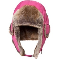 Barts Fuchsia Faux Fur Kamikaze Trapper Hat 53cm (4-8 years) found on MODAPINS from Alex and Alexa for USD $28.00