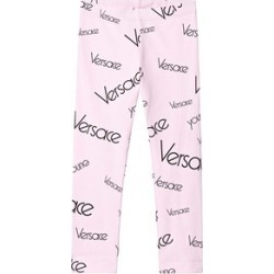 Versace Versace Pink Logo Leggings S (10 years) found on Bargain Bro UK from Alex and Alexa