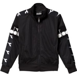Diadora Black Branded Tech Track Jacket L (12 years) found on MODAPINS from Alex and Alexa for USD $51.48
