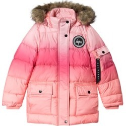 Hype Peach Fade Explorer Puffer Jacket 11-12 years found on MODAPINS from Alex and Alexa for USD $76.05