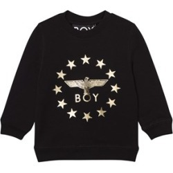 Boy London Boy London Black and Gold Logo Globestar Sweatshirt 7-8 years found on MODAPINS from Alex and Alexa for USD $58.39