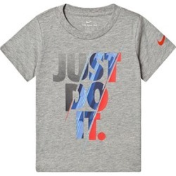 Nike Nike Grey Slash Just Do It Branded T-Shirt 2-3 years found on Bargain Bro UK from Alex and Alexa