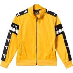 Diadora Yellow Branded Tech Track Jacket S (8 years) found on MODAPINS from Alex and Alexa for USD $51.48