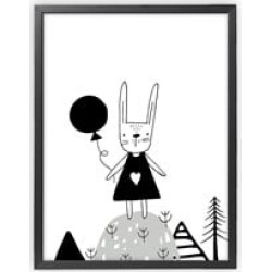 XO Posters Rabbit Poster 30x40 cm