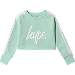Hype Mint Side Stripe Crow Crew Sweatshirt 3-4 years found on MODAPINS from Alex and Alexa for USD $30.68