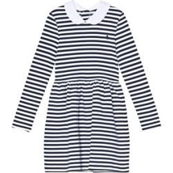Ralph Lauren Ralph Lauren Navy and White Stripe Long Sleeve Ponte Dress S (7 years) found on Bargain Bro UK from Alex and Alexa