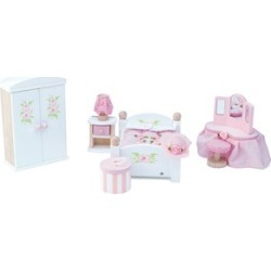 Le Toy Van Daisylane Master Bedroom Dolls House Furniture One Size (3+ years)