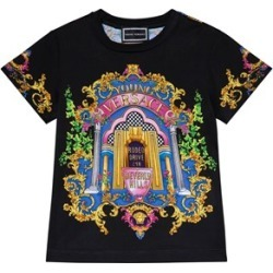Versace Versace Black Versace Rodeo Drive Floral T-Shirt S (10 years) found on Bargain Bro UK from Alex and Alexa