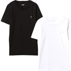 Calvin Klein Pack of 2 Black and White Tees 6-7 years