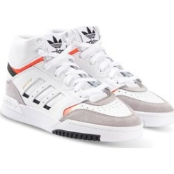 adidas Originals White Drop Step Hi Tops 29 (UK 11)