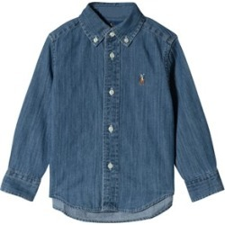 Ralph Lauren Blue Chambray Shirt with PP S (8 years) found on Bargain Bro India from Alex and Alexa for $102.70
