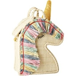 RICE A/S RICE A/S Unicorn Raffia Bag One Size