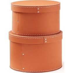 Kids Concept Kids Concept 2-Pack Orange Storage Boxes 0 - 5 years