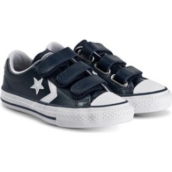 Converse Navy Star Player 3V Trainers 33 (UK 1)