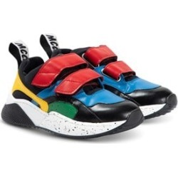 Stella McCartney Kids Stella McCartney Kids Red Blue And Black Colour Block Trainers 29 (UK 11)