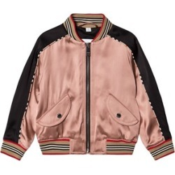 Burberry Dusty Pink Deer Motif Sateen Bomber Jacket 8 years found on MODAPINS from Alex and Alexa for USD $720.00