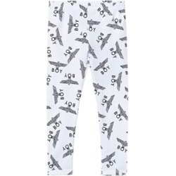 Boy London Boy London White and Black Repeat Kids Leggings 7-8 years found on MODAPINS from Alex and Alexa for USD $45.41