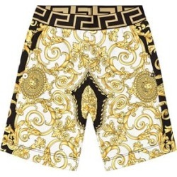 Versace Versace Black and Gold Baroque Sweat Shorts S (10 years) found on Bargain Bro UK from Alex and Alexa