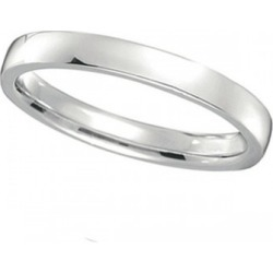 Platinum Wedding Ring Low Dome Comfort Fit (2mm) found on Bargain Bro from Allurez for USD $751.64