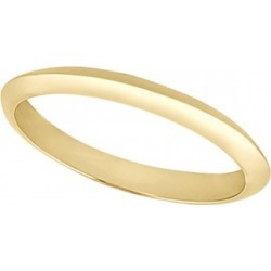 Women's Knife Edge Wedding Ring Band 14k Yellow Gold (2.7 mm) found on MODAPINS from Allurez for USD $280.00
