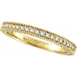 Diamond Wedding Ring Band in 14K Yellow Gold (0.31 ctw) found on Bargain Bro India from Allurez for $594.00